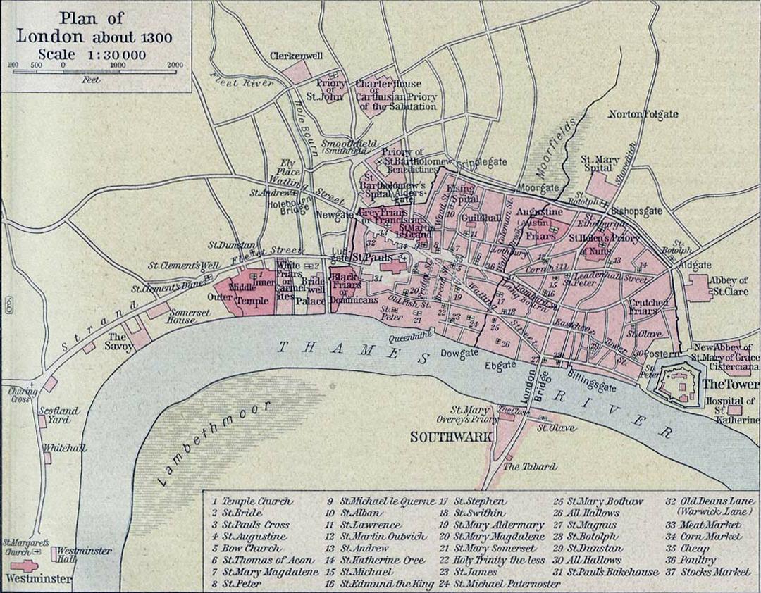 plan_of_london_in_1300